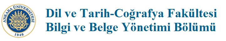 Bilgi ve Belge Yönetimi Bölümü Logo
